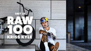 Kriss Kyle Rips BMX at Unit 23 Skatepark | Raw 100