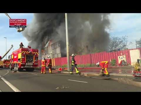 Saint Denis 93: incendie dans un centre d'Emmaus