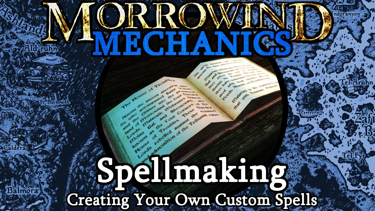 Spellmaking - Morrowind Mechanics