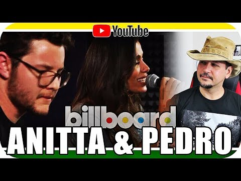 ANITTA ACÚSTICO - Reagindo a Billboard a ao Vivo - Marcio Guerra Canto React  Reação
