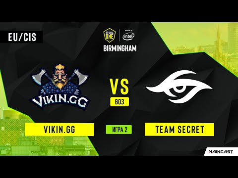 Vikin.gg Vs Team Secret (Игра 2) | BO3 | ESL One Birmingham 2020