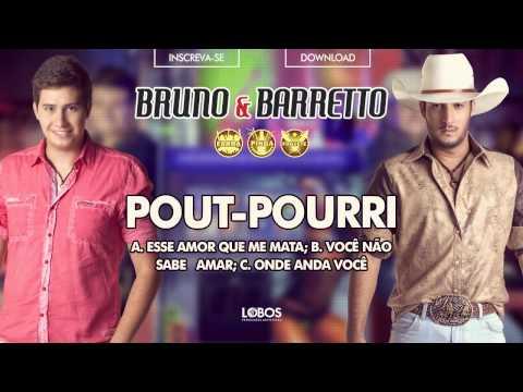 Bruno e Barretto - Pout Pourri - CD Farra, Pinga e Foguete (Áudio Oficial)