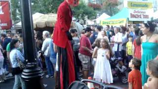 Stilts at Buskerfest Thumbnail