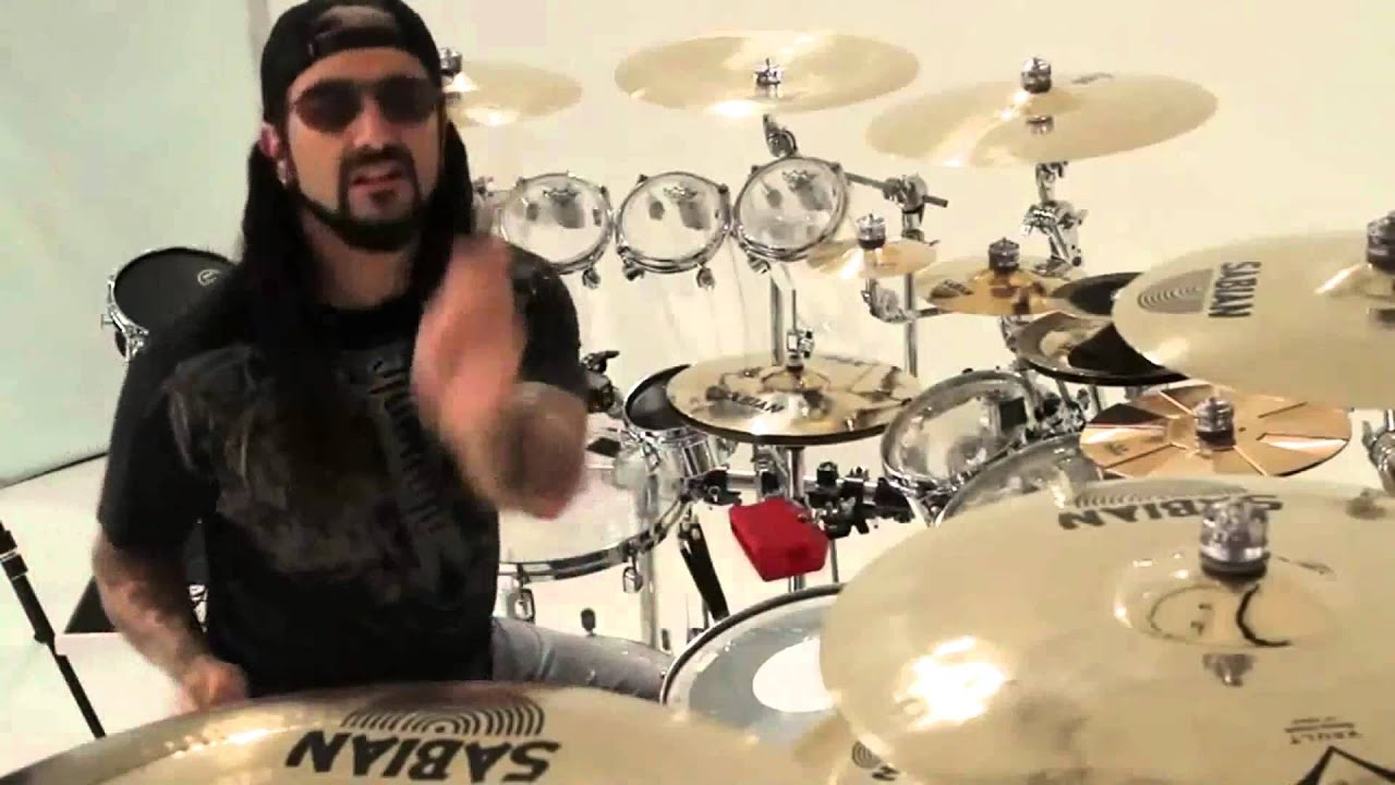 Drum Set Wallpaper Hd Mike Portnoy Drum Solo Testing New Drums Youtube