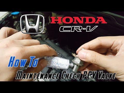 How to Clean PCV Valve // Honda CRV HRV Civic R20A1