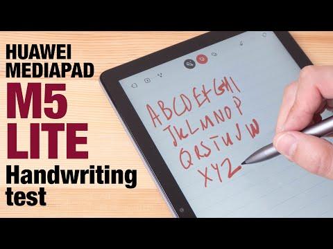 MediaPad M5 Lite HANDWRITING And NOTE TAKING TEST