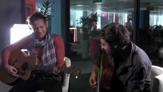 "Watershed perform ""Letters"" acoustic in studio"