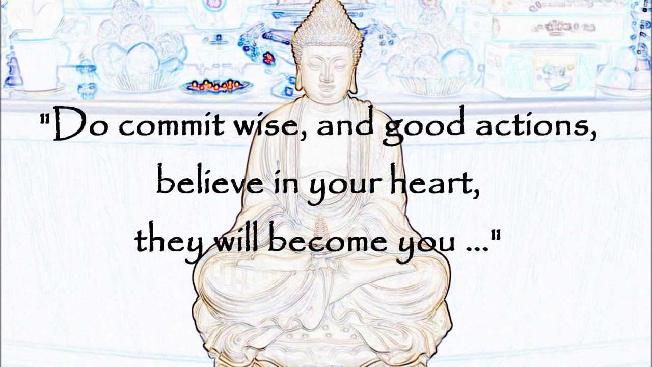 Buddha Quotes On Karma Youtube