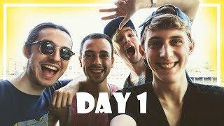 BOYFRIENDS ROADTRIP ADVENTURE! | Vlogweek Day 1