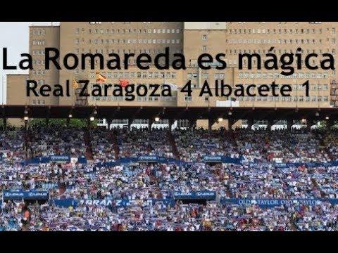 Real Zaragoza 4   Albacete 1