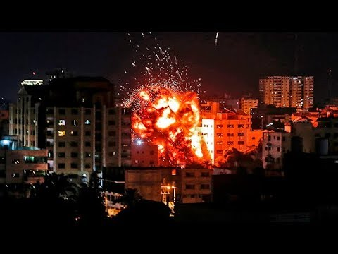 Gaza - Israel airstrikes escalate to most intense in years