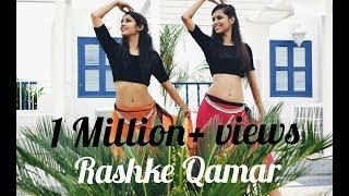 """MERE RASHKE QAMAR""- Belly & Indian Dance Fusion    Mini Sethi & Radhika Mohta"