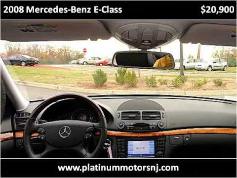 2008 Mercedes Benz E Class Used Cars Freehold Manalapan Nj Youtube
