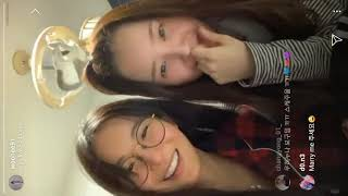 [191130] Full Dalshabet/UNI.T Woohee's insta live with Hyuny…