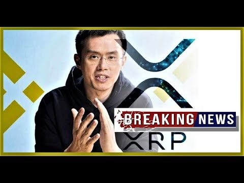 XRP BREAKING NEWS: Binance CEO CZ ...About XRP