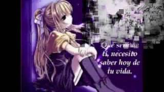 """Letra de """"Que sera de ti"""" Thalia"""