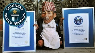 The Smallest Man Alive? - Guinness World Records
