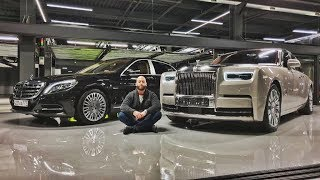 Rolls-Royce Phantom VS Maybach. Деньги не решают