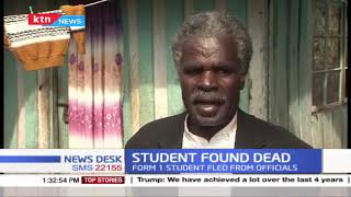 Form 1 student found dead in Embu