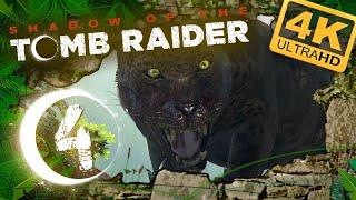 SHADOW OF THE TOMB RAIDER 🌙 #4: Aggressiver Jaguar will spielen