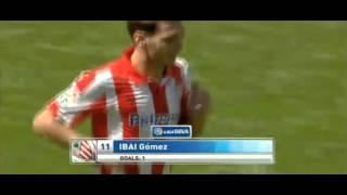Gomez Goal (Real Madryt 3-1 Athletic Bilbao) 1/09/2013