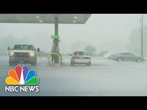 Hurricane Laura Strengthens To Category 4   NBC Nightly News