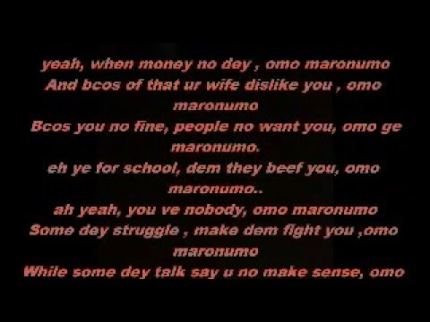 Bracket-- Maronumo (Lyrics)