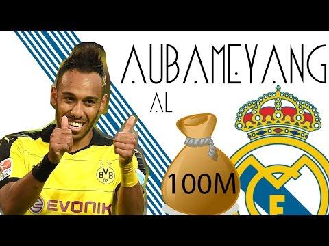 aubameyang-al-real-madrid-por-100m-|-fichajes-y-rumores-2017-|