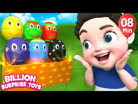 Thumbnail: Nursery rhymes for babies | 3D Nursery Songs Compilation from Billion Surprise Toys