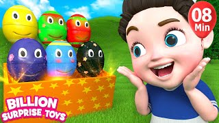 Video Nursery rhymes for babies | 3D Nursery Songs Compilation from Billion Surprise Toys download MP3, 3GP, MP4, WEBM, AVI, FLV Juli 2018