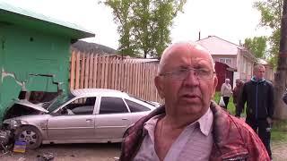 Автоавария на ул  Гагарина
