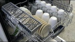 Bosch Dishwasher Review by VersatileVicky | Bosch Dishwasher SMS60L02IN Full Demo India |