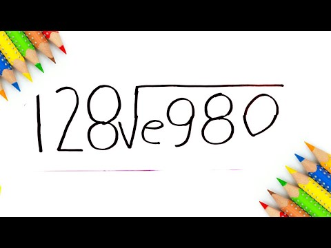 Easy Drawing ! How To turn 128� Number into I Love You step by step doodle art on paper for kids
