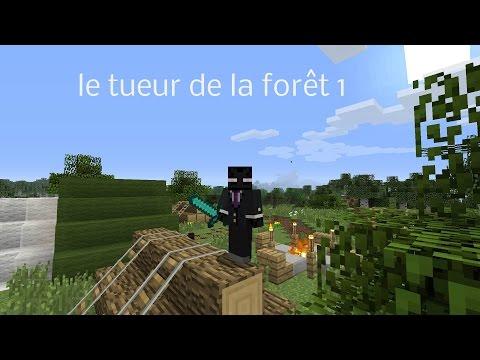 minecraft court métrage le tueur de la forêt 1 FR