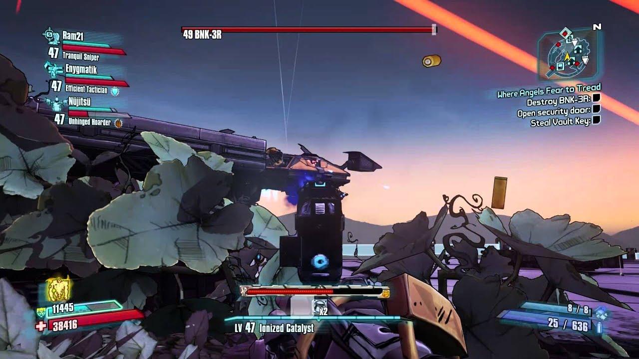 Borderlands 2  4 Player True Vault Hunter Mode - Ep22 - The Bunker