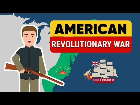 American Revolutionary War - Timelines and Maps - Animated U
