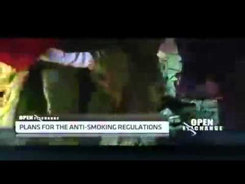 South Africa's anti smoking regulations