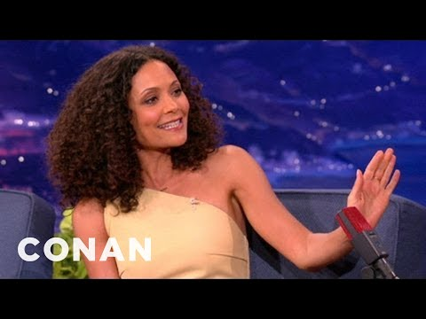 Thandie Newton Is A CrotchSmasher  CONAN on TBS