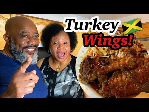 How to make Turkey Wings!   (Wifey Style!)   Deddy's Kitchen