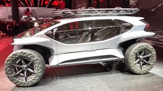 Audi AI Trail 2020. Франкфуртский автосалон