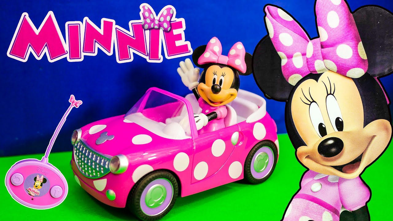 Unboxing The Minnie And Mickey Mouse Roadster Toys Youtube