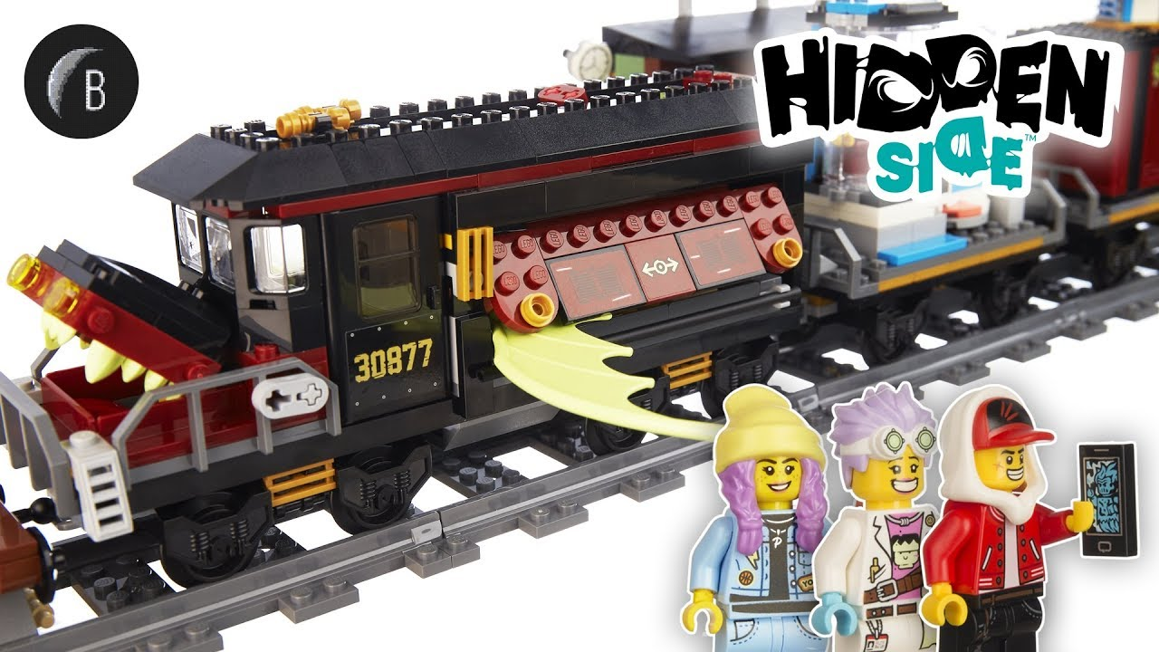 LEGO 70424 - Ghost Train Express - Hidden Side - Speed Build and Review