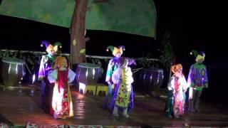 Купальская ночь в Турочаке фестиваль 06 июля 2013 г. Куклы-великаны