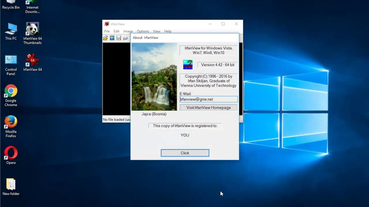 How to Uninstall IrfanView 64-bit on Windows 10 - YouTube | 1280 x 720 jpeg 101kB