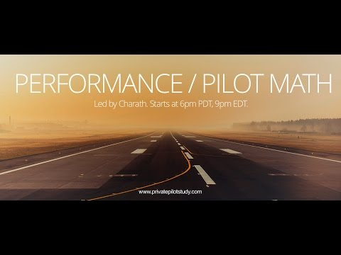 Performance / Pilot Math