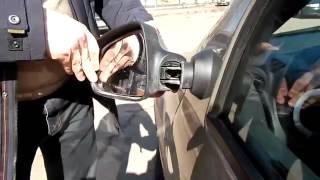 Lada Largus Обзор зеркал, уплотнитель капота, салон