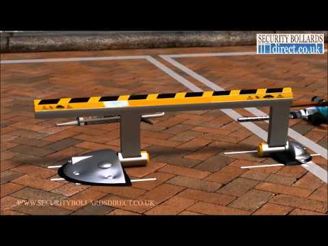Installing and using the PB200 automatic parking space barrier.