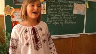 Перший урок у Тисменицькій школі