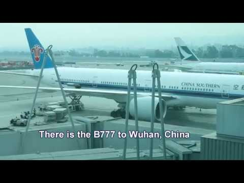 China Southern Business Class B777 San Francisco to Wuhan, China non-stop