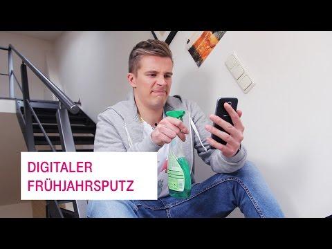 Social Media Post: Digitaler Frühjahrsputz - Netzgeschichten